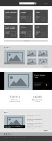 Home Wireframe | Desktop